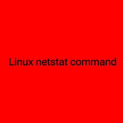 بررسی ارتباطات لینوکس در شبکه با دستور netstat